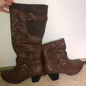 Knee high fashion boots